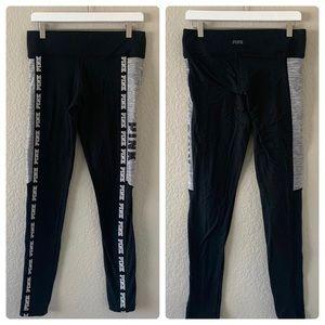 PINK by Victoria Secret Leggings Black, M 7/8